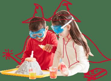 Vorkindergarten - und Vorschulkind